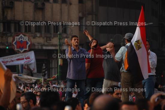 Egyptians Protest in Tahrir