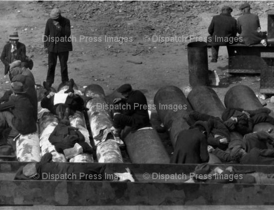 Homeless Men - Great Depression