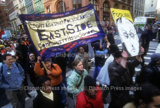 Police Brutality: Amadou Diallo Protest March