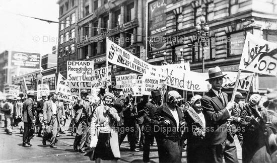 Communist Sympathizers March