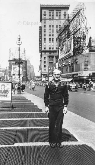 Sailor at Times Square