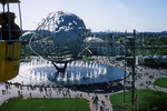 Unisphere and Cable Car