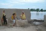 Women Making Bread