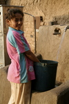 Filling water in Cairo