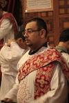 Coptic Clergy Watching Over Churchgoers