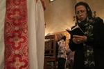 Coptic Woman Showing Faith