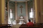 Egyptian Praying at Church