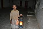 Children and Lamps in Yemen