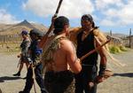 People Fighting in Maori Culture