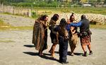 Fighting of  the Maori