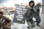 Anti-Trans-Pacific Partnership Agreement (TPPA) protest