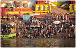 Ganges Morning Bathers
