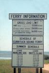 Currituck Sound Ferry