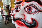 Preparation of Hindu Festival Dussehra