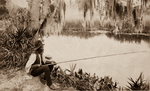 The Old Fisherman - Sepia