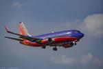 Southwest Boeing 737 On Approach Dallas Love Field