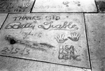 Betty Grable on Hollywood Boulevard