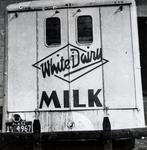 White Dairy Milk Truck